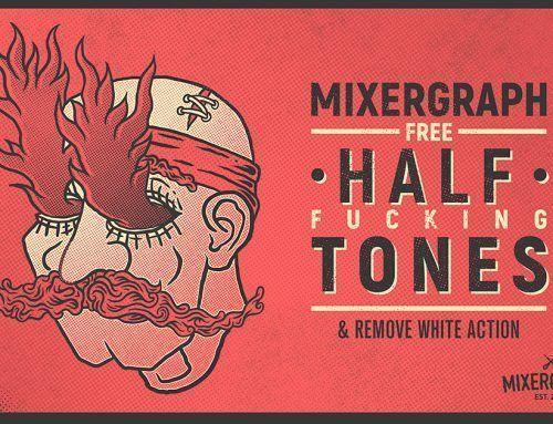 Free Halftone Textures Kit