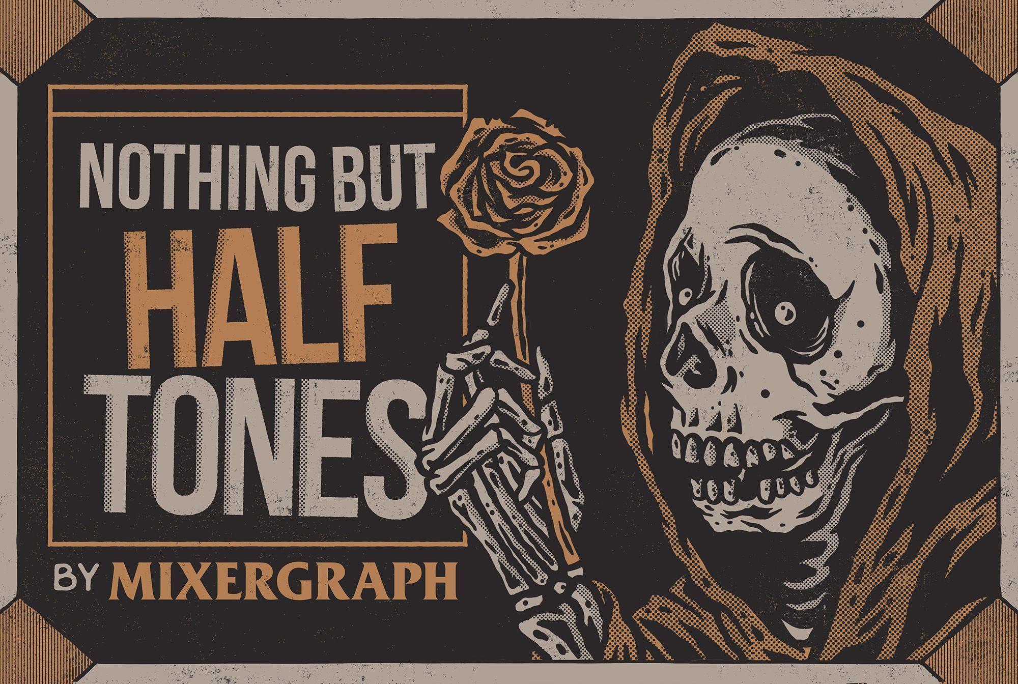 Mixergraph Nothing but Halftones